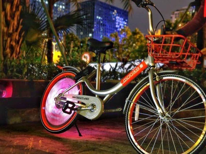 二沙岛共享单车骑行偶遇网红乐天户外