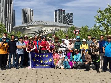 6月1日大家一起徒步滨海中路