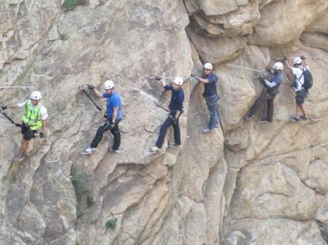 【火星户外】岩壁上的舞者—挑战飞拉达