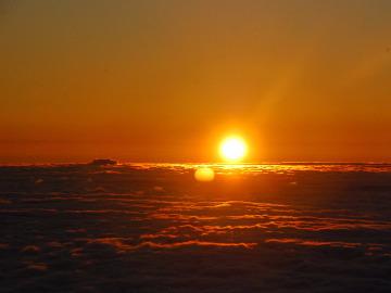 【火星户外】中秋夜爬泰山观日出云海