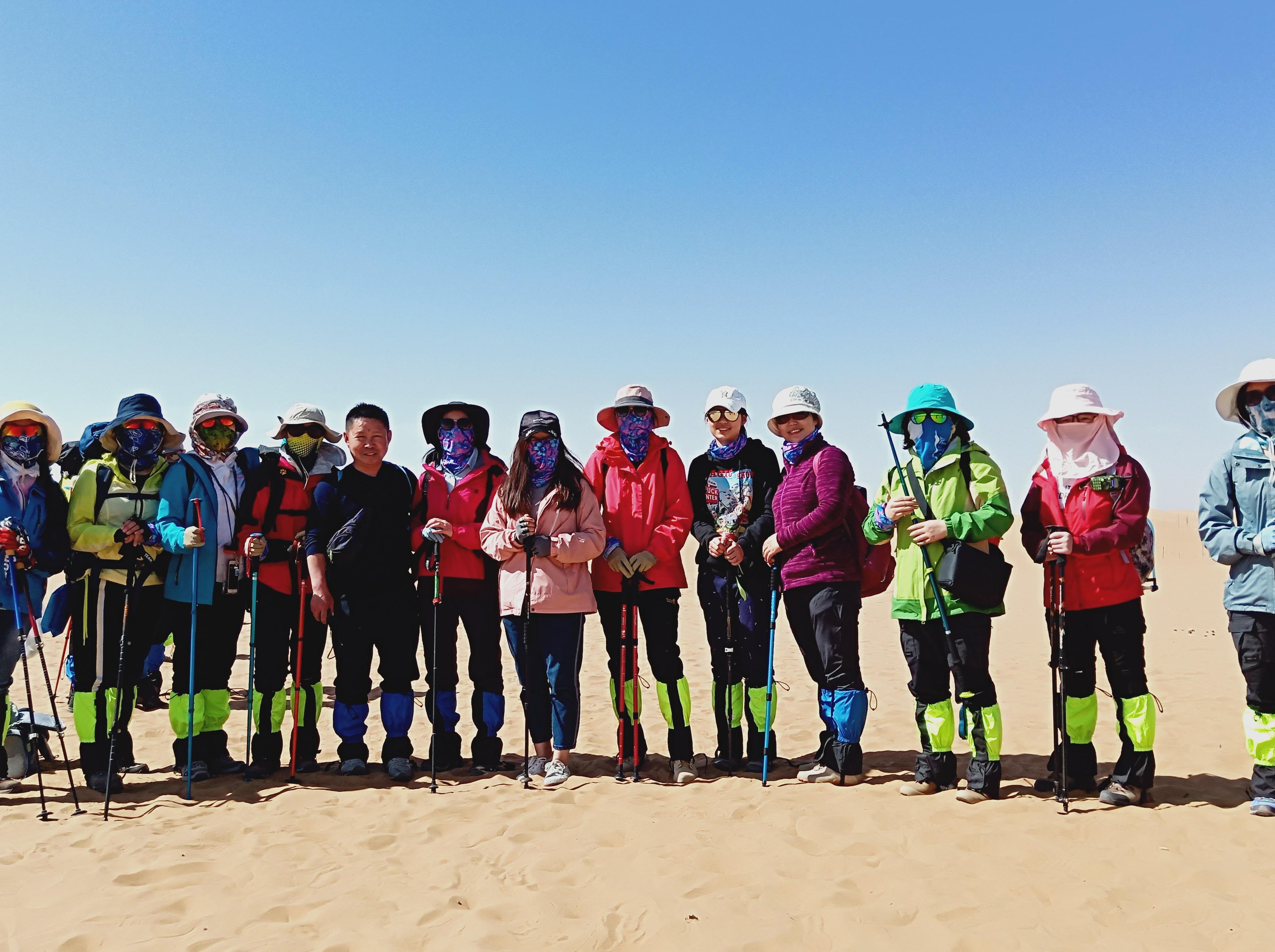 五一假期 远征腾格里沙漠-五湖连穿