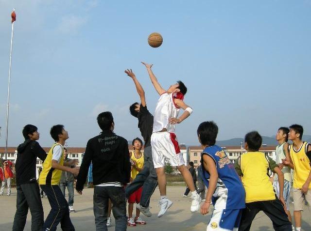 篮球赛 等你来挑战