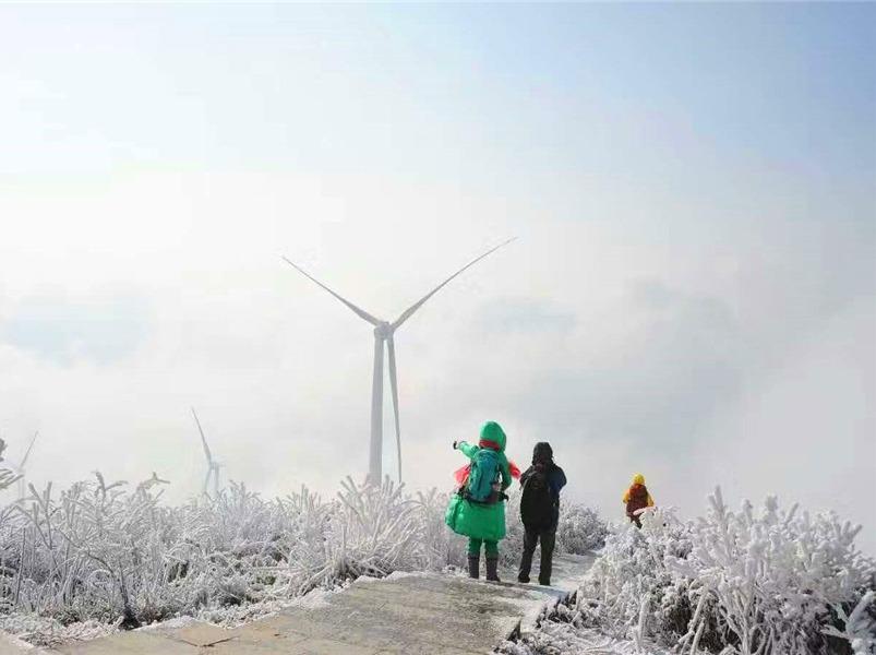 12月梅山龙宫·蚩尤故里·大熊山雾凇徒步