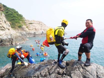 7月30探秘深圳魔界黑岩角