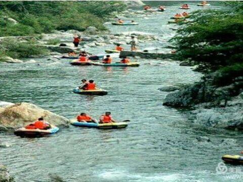 8月12日第二期绝美原生态-虎尾峡漂流