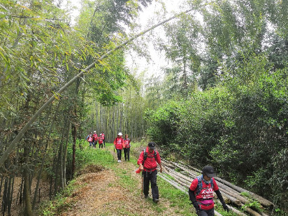 11日浙江和尚山古道一日徒步