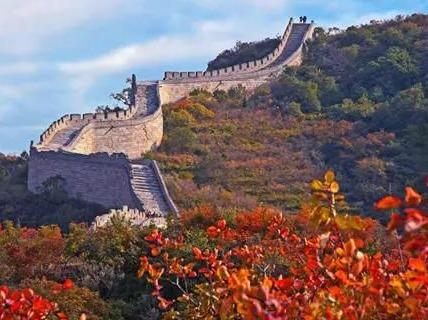 周六一天 红叶岭爬长城 赏秋
