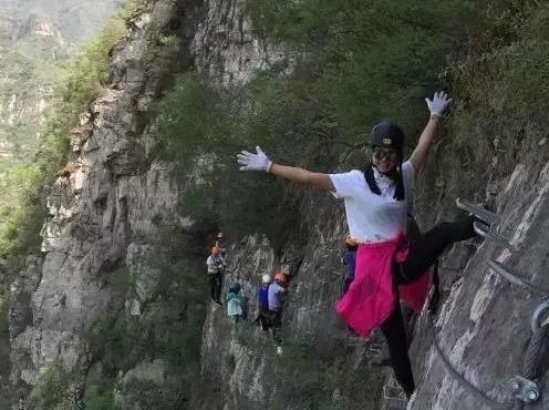 周六岩壁上的舞者—幽岚山飞拉达