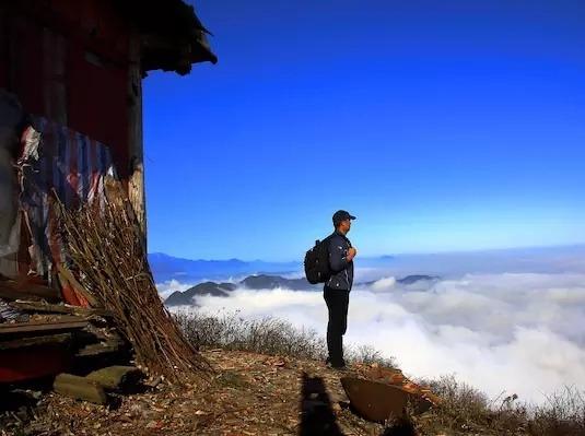 【周末活动】彭州天台山登高一天玩雪喽