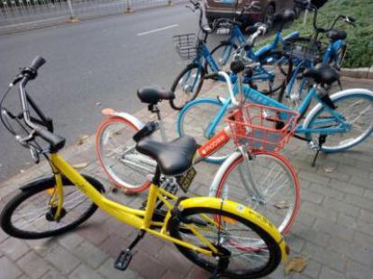 共享自行车一日游