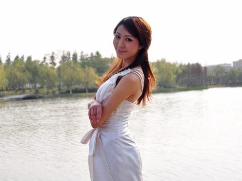 10月5日帅哥美女相约千灯湖游玩