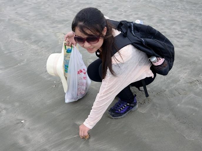 11月25日惠州黒排角海岸线穿越