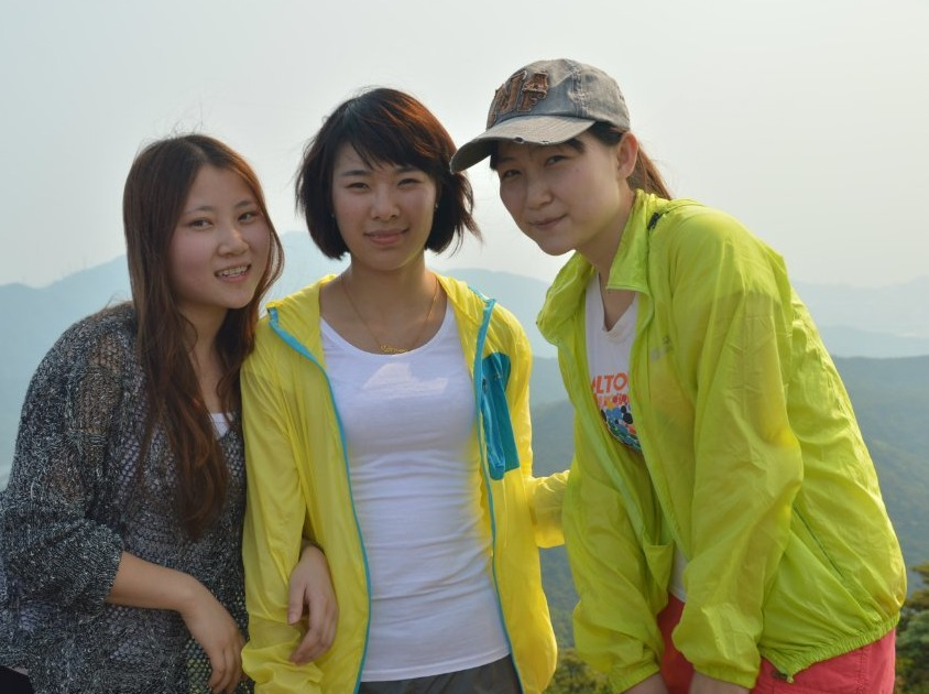 1月28号勇攀深圳第一高峰梧桐山
