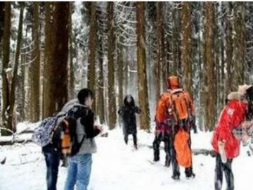 12.31(周一)彭州红岩山轻松徒步耍雪