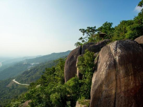 5月12日双龙潭穿越天柱山到长泰采摘水果