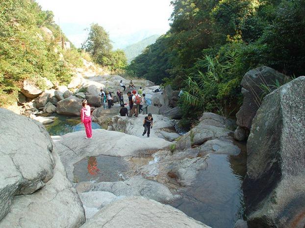 10月13日同安澳溪溯溪进野炊玩水