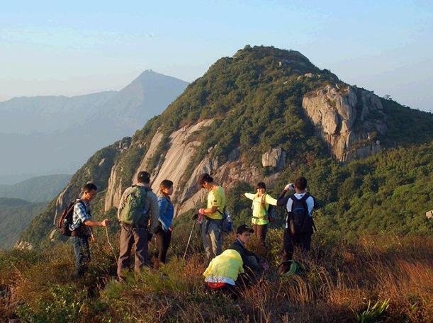 3月31日同安雪山岩穿越北辰山