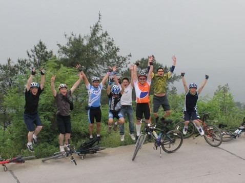 威远县铁线沟自行车林道越野骑行活动