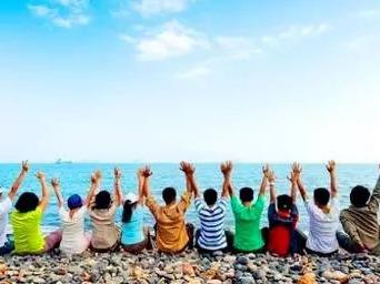 10.28穿越狮子岛海岸线,逛沙滩捡贝壳