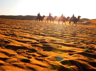 《龙门飞甲拍摄地》天漠,品柳沟豆腐牛肚